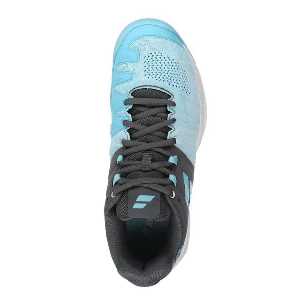 Babolat Propulse Team AC All Court Womens Tennis Shoes Sneakers Light Blue