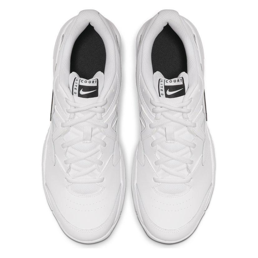Nike Court Lite 2 (White/Black) Men's Tennis Shoes