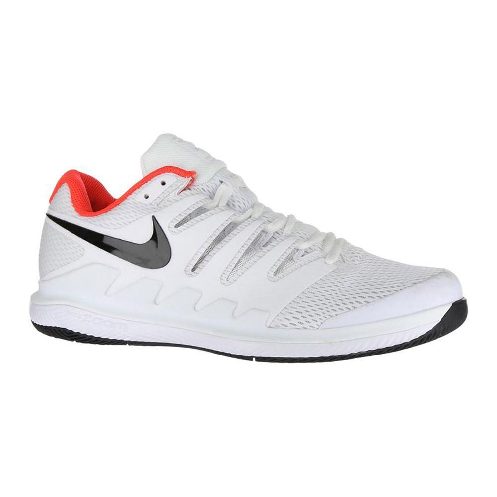 Nike Air Zoom Vapor X HC (White/Black-Bright Crimson) Men's ...