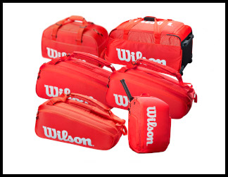 Wilson Super Tour (Red) Tennis Bags